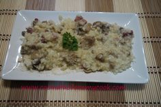 Mis recetas Mycook: Risotto de champiñones Mashed Potatoes, Grains, Rice, Cooking, Ethnic Recipes, Food, Risotto, Recipes With Rice, One Pot Dinners