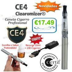 Descrição: EGO CE4 Fume saudavel Experimente e comprove!!  Fácil e muito prático, esqueça tudo o que experimentou.  Mais saudável, com o mesmo sabor e fumo!!!  O kit contem :  - 1xCartomizador CE4 com capacidade de 1,6ml (Equivalente a 200 Cigarros ), - 1x Bateria Li-ion 650mAh - 1x Carregador USB Ego, Tobacco Shop, Charger, Smoking