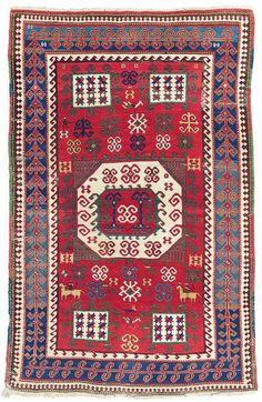 A Karachov Kazak rug, South Caucasus, c.1870 | Christie's