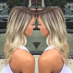 Loving this rooty blonde by Lindsey Vandergriff! Reserve your appointment with…