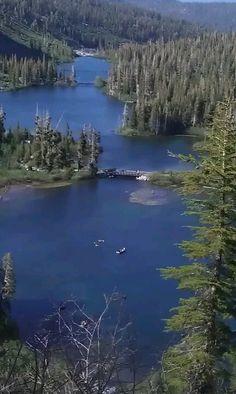 Twin lakes Mammoth lakes ca