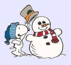 Snoopy and his Frosty