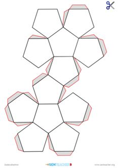 Print nets to create a range of shapes Printable Shapes, Printable Worksheets, Printables, 3d Printing Companies, 3d Printing Service, 3d Shapes Worksheets, Group Games For Kids, Shape Templates, How To Make Box