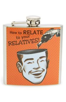 Barbuzzo 'Relatives' Stainless Steel Flask   No
