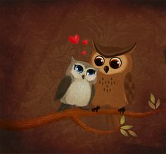 V-Day Cuteness ~ Owl Always Love You!