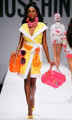 DORLY DESIGNS: London Fashion Week: Moschino RTW Spring Summer 2015