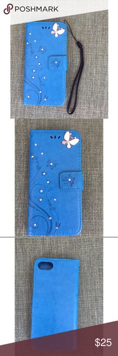 🦋New list! 🦋 Butterfly iPhone 7 case This super cute butterfly PU leather case is a must have! It comes with a black wrist cord and has slots to keep a couple of cards and purpose your is! Very concur to for traveling light! Accessories Phone Cases