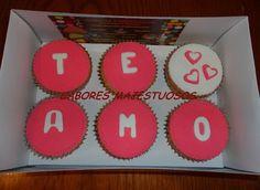 Cupcakes En Caja - San Valentin, Dia De Los Enamorados!! - Kultip