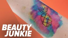 Get an Awe-Inspiring Watercolor Tattoo Without the Commitment: Watercolor tattoos are beautiful, right?