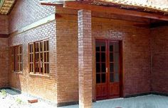 Casa de tijolo ecológico - http://www.casaprefabricada.org/casa-de-tijolo-ecologico