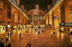 Grand Central Station plays a key role in Lyndsey and Jack's story.