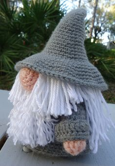 Gandalf Gonk crochet pattern.