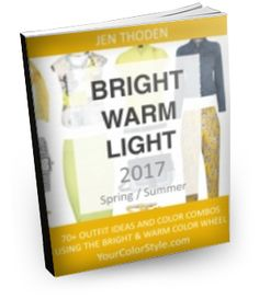 Bright, Warm and Light Style Guide - 2017 Spring/Summer ~ Perfect for light springs and warm springs. Summer Colors, Warm Colors, Light Spring, Spring Summer, Spring Color Palette, Light Style, Find Color, Fashion Lighting, Fashion Colours