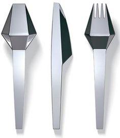 http://awoltrends.com/wp-content/uploads/2011/12/cutt_cutlery_buchegger_denoth_feitchner.jpg    #colher #faca #garfo #inox #branco
