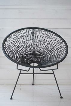 white wire garden chair - Szukaj w Google