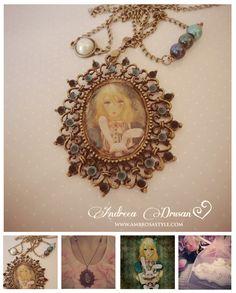 Alice in Wonderland Necklace