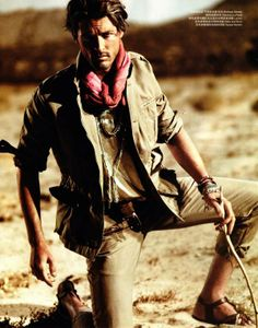 desert nomad in men's vogue china