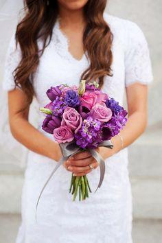 WeddingDreams's Blog: La novia de los zapatos morados