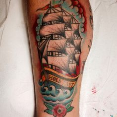 Traditional ship by @alexandreask sp, br. Hold fast