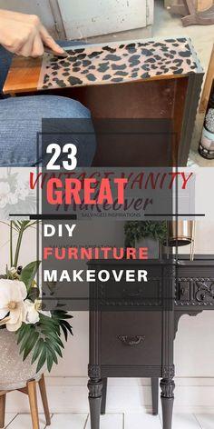 20+ easy & clever DIY Furniture Makevoer ideas anyone can do Furniture Makeover, Diy Furniture, Repurposed Furniture, Clever Diy, Storage Chest, Easy, Inspiration, Home Decor, Biblical Inspiration