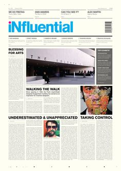Influential on Editorial Design Served
