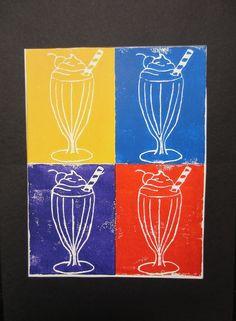 andy warhol-pop art print