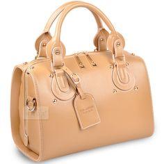 (FL009071) Vicki Princess Korean 2012 New Spring Hand Carry Bags Box-type Cowhide Leather Retro Ladies Handbag [FL009071] - US $149.99 : FashionLeap