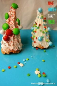 """I did this with 24 very squirrely 1st graders and it surprisingly went very well.I would recommend """"gluing"""" the cone to the plate 1st with icing."""