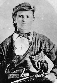 Jesse James, age 17, 1864 in Plattesville MO. Brothers Jesse and Frank James terrorized banks, trains and payrolls in the 1870s and '80s. The Pinkerton Detective Agency had a run for it's money chasing the James boys from state to state. Among the James Gang were the Younger Brothers. Other gang members came and went. You will find photos of the James' and the Youngers plus the women in their lives and some of their victims at this link.