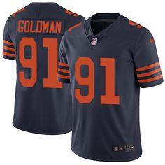 nike elite hroniss grasu navy blue mens jersey chicago bears 55 nfl 1940s throwback alternate 24.99