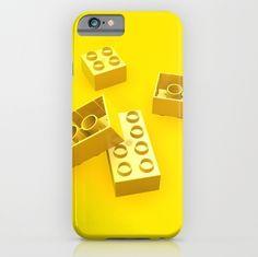 Duplo Yellow iPhone Case at Søciety6 #duplo #lego #iphone #rickardarvius #society6 #artprint #ilovelego
