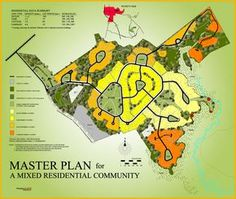 Master Plan for a Mixed Residential Community | Dempsey Land Design