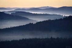 Foggy European Landscapes at Sunrise Photographed by Kilian Schönberger