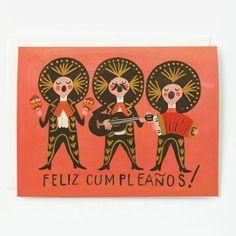 Feliz Cumpleanos Spanish Happy Birthday Card