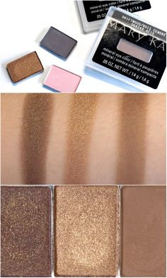 Mary Kay Mineral Eye Color Eye Shadows New Summer 2014 Shades: Review and Swatches