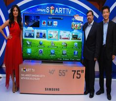 Samsung launches 75 inch Smart LED TV in India