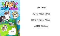 Let's Play - My Cat Album (iOS) - Complete Sticker Album of 107