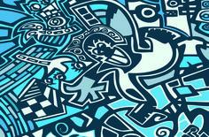 Tribal grafitti
