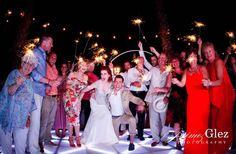 Sparklers are a great idea!!! destination wedding cancun.jpg www.jaimeglez.com