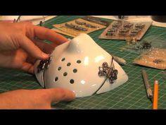 DIY Steampunk: Steampunk Mask Tutorial Steampunk Boots, Steampunk Weapons, Steampunk Mask, Steampunk Cosplay, Steampunk Diy, Steampunk Clothing, Steampunk Images, Cheap Halloween, Halloween Cosplay