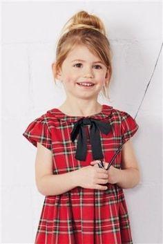 Купить Платье в шотландскую клетку с воротником (3 мес.-6 лет) - Покупайте прямо сейчас на сайте Next: Россия