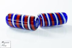 Handmade glass bead Callmer's B391