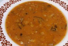 Falešná dršťková polévka z hlívy ústřičné Tempeh, Food And Drink, Soup, Cooking, Ethnic Recipes, Diet, Alcohol, Kitchen, Soups