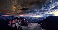 Contemplez ce phénomène naturel exceptionnel qui sublime le Grand Canyon