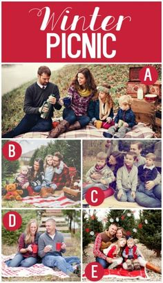 Winter Family Photography Ideas