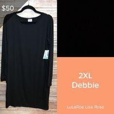 LuLaRoe Debbie Long Sleeve, Sleeves, Mens Tops, T Shirt, Cap Sleeves, Tee