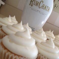 Rum Chata Cupcakes @keyingredient #cheese