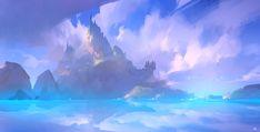 ArtStation - cloud study, Zudarts Lee