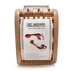 Lotus Wood Foot Massager $12.99 Bed Bath & Beyond