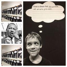 MLK Hallway display craftivity and many more MLK activities!